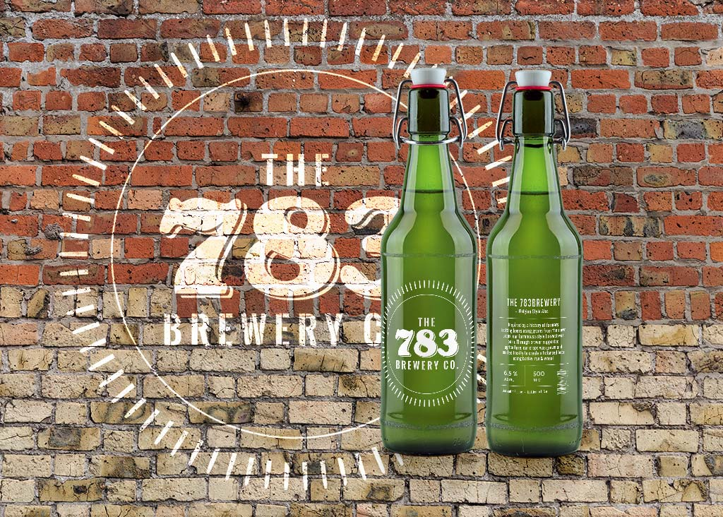783 Brewery Wall