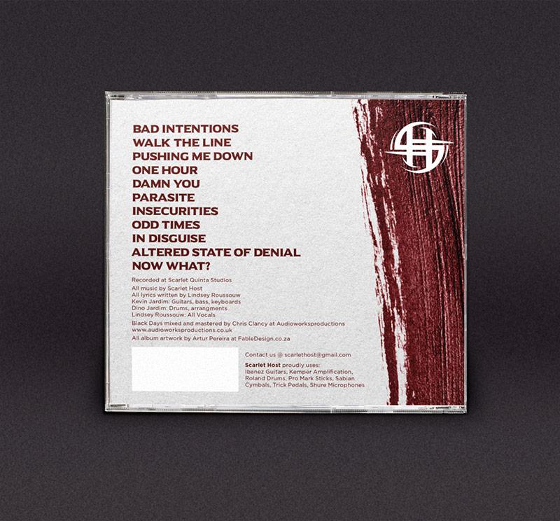 Scarlet Host Album Back