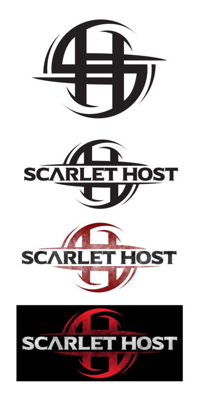 Scarlet Host Logo Development