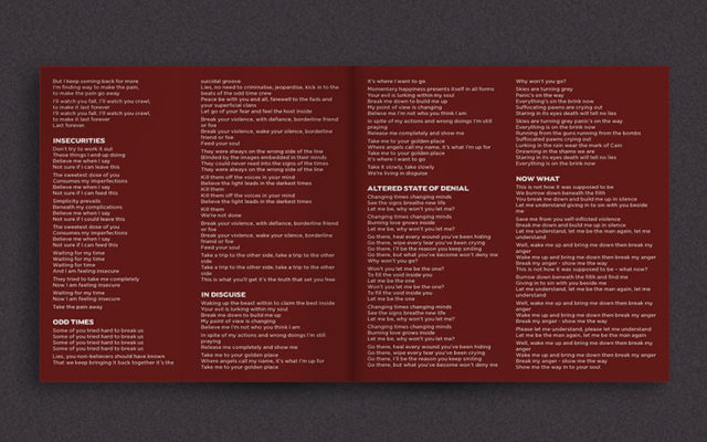 Scarlet Host Album Booklet2