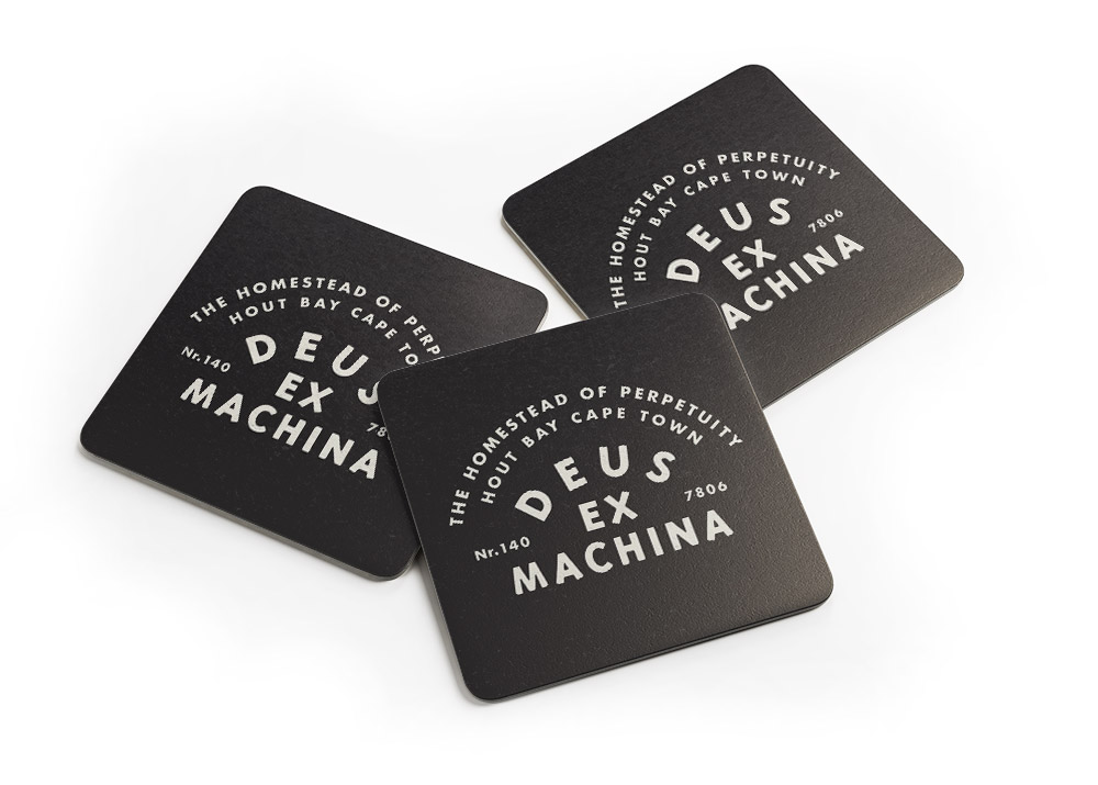 Deus Beer Coasters