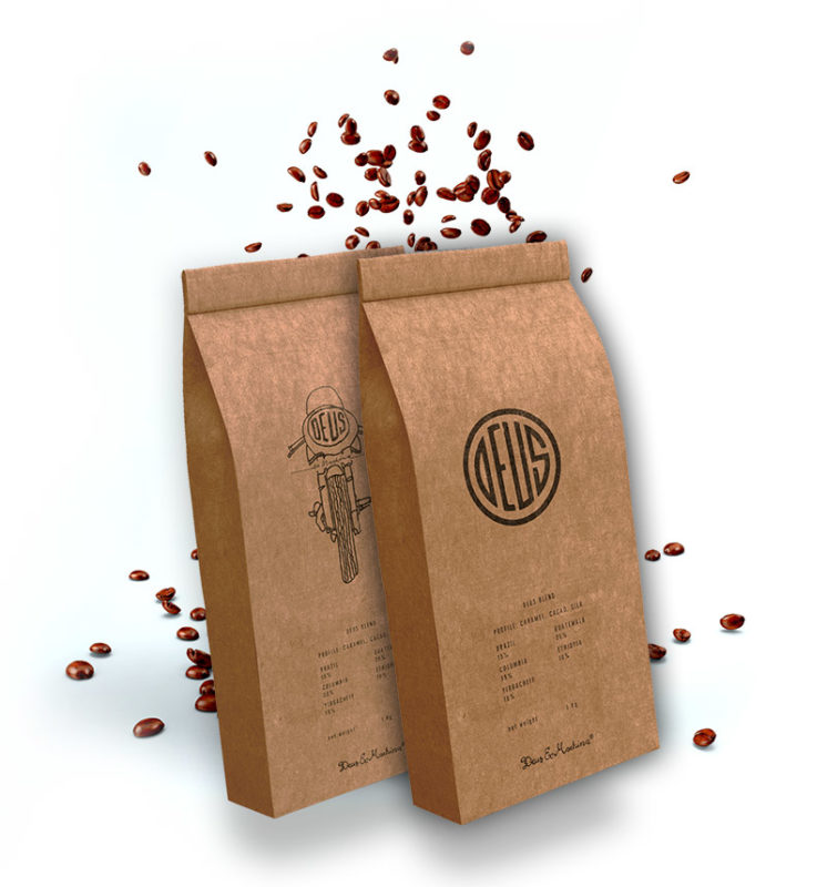Deus Coffee Branding