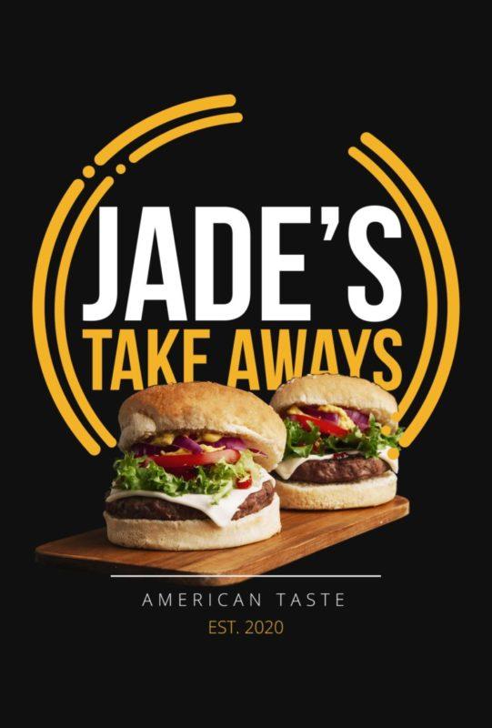 Jades Takeaway Menu Cover